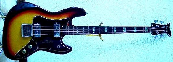 Odd Ibanez bass with strange pointy headstock