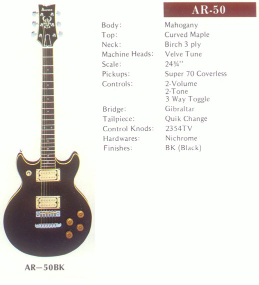 NGD: 1980 Ibanez AR50 Photos and Man I Don't Think I Like This Guitar Anymore... - OffsetGuitars.com