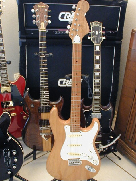 I had to throw in a pic of my 1966 Kay strat copy