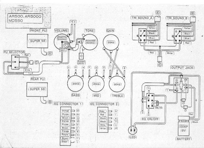 Ibanez Wiring Diagram 3 Way Switch : Ibanez rg way switch wiring diagram