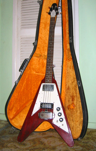 flying v bass